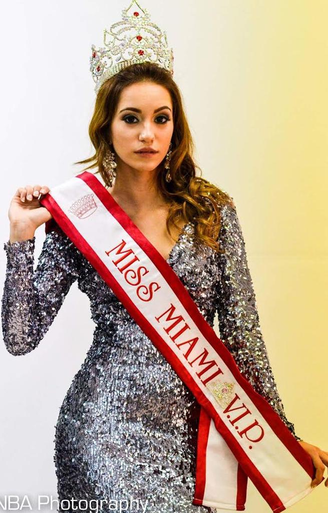 Genesis Leiva - Miss Miami VIP 2014