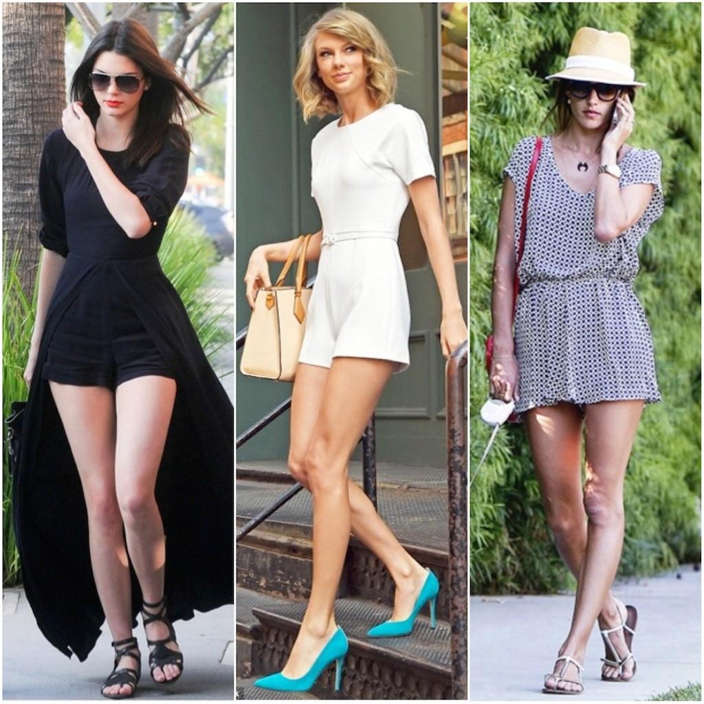 Celebrity Trend Alert – Sexy Rompers