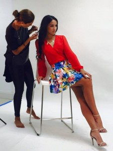 Pictures of a photoshoot at Imagen Modeling by La Gatita - Miami Modeling Academy