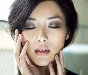 Picture of Liu Wen used in an article for Imagen Modeling by La Gatita a Modeling Academy in Miami