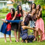 Susanlee Forty and her students at Imagen Modeling in Miami